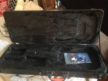 Fender Case Deluxe Moulded Strat Stratocaster / Tele Telecaster