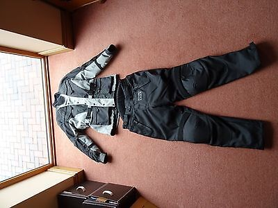 Motorcycle jacket and trousers - touring outfit