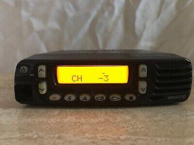 Kenwood Tk8180-k Uhf 450-520 Mhz Transceiver