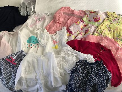 Size 1 baby Girls Clothing package