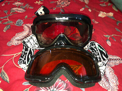 b4b7d7d218cd Kids SMITH Ski Goggles And Adults BOLLE Ski Goggles Lot of 2