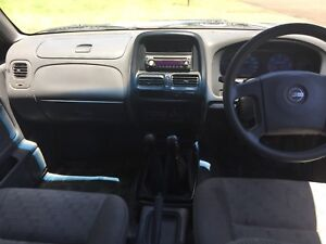 2002 Nissan Navara D22 DX TURBO DIESEL 4X4 Ute $5599