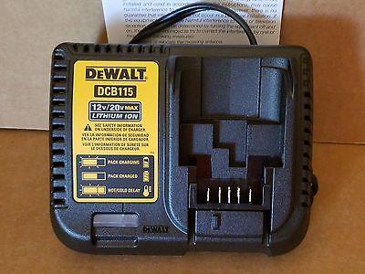 Brand New Dewalt  DCB115  20V Lithium Charger   Tool  Only