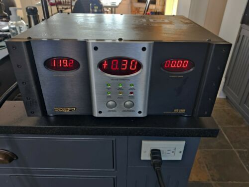 Monster Power AVS 2000 Pro Automatic Voltage Stabilizer (working condition)