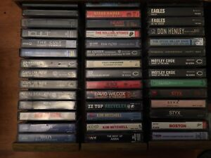 Classic Rock - Cassette Tapes