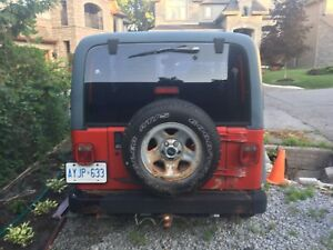 **SOLD** 97 TJ for sale **SOLD**