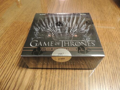 GAME OF THRONES SEASON 8 Factory sealed trading Card box Rittenhouse 2020