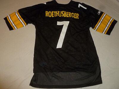 f74207239ba REEBOK PITTSBURGH STEELERS NFL FOOTBALL JERSEY SIZE XL  7 BEN ROETHLISBERGER