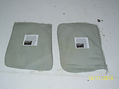 BULLETPROOF Block Spall 2 Trauma SOFT Plates Level IIIA 6X8 Body Armor Vest