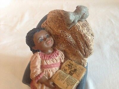 Collectible Figurine, Vintage, ALL GOD's Children, HANNAH, signed M. Holcombe