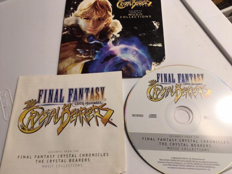 MICA-1111-2 Final Fantasy Crystal Chronicles Crystal Bearers Music Miya Records