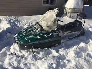 1995 skidoo touring le long track