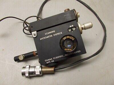 Gamma Scientific 700-10-65a Scanning Micrometer Eyepiece
