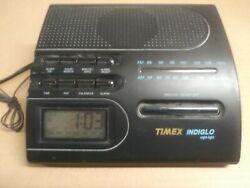 Timex Indiglo AM/FM Clock Radio Alarm Night Light T422B