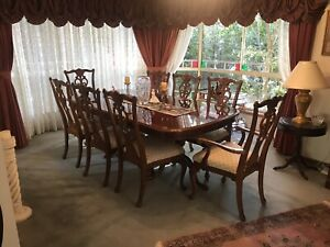 Wanted: Chippendale mahogany dining table and chairs
