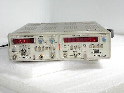 Hameg Hm8001-2 Mainframe Hm 8021-2 1ghz Counter Hm 8030-3 Function Generator