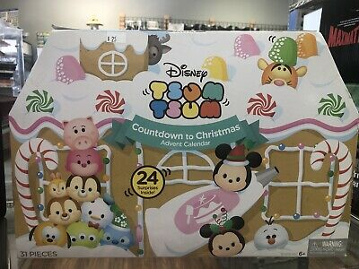 Disney Tsum Tsums Countdown to Christmas Advent Calendar 31 Pcs 2016