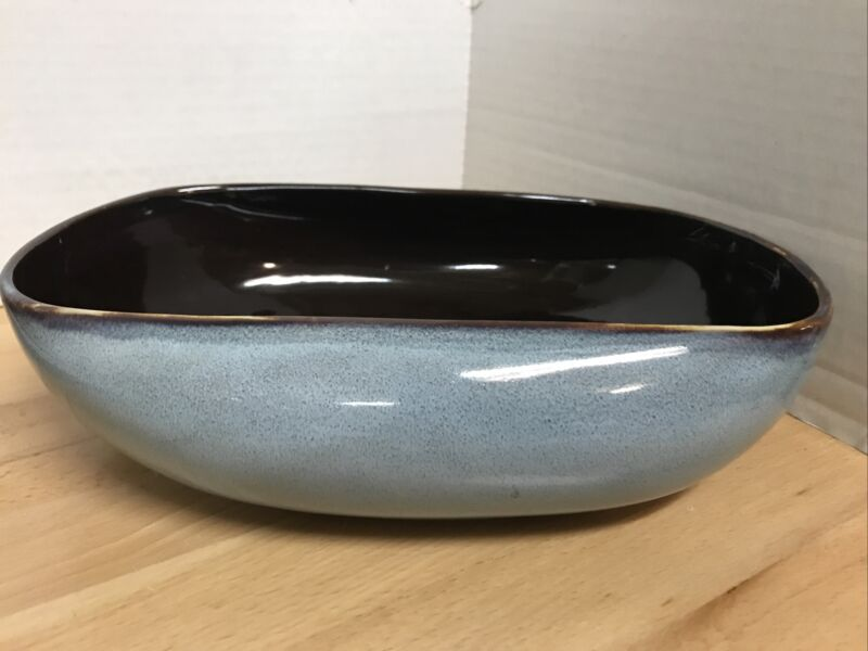 Oneida RUSSEL WRIGHT Sky Blue - Oval VEGETABLE SERVING BOWL