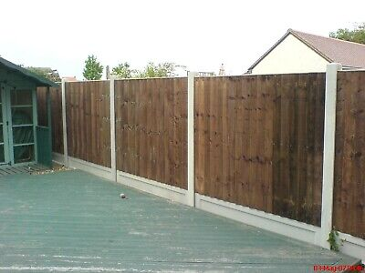 fencing closeboard panels and concrete gravel boards and posts Colchester area