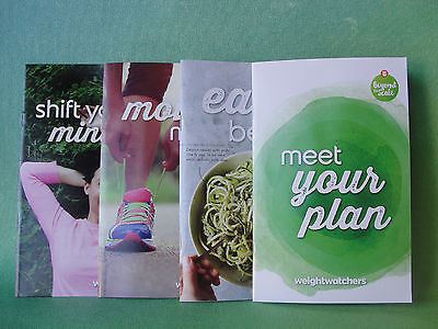Weight Watchers 2017 Smart Points Welcome Kit With 4 Guides   Pocket Guide Book