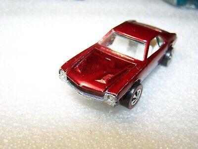 "hot wheels redline""CUSTOM AMX""RUBY RED,MINTY!,LOOK!!1968"