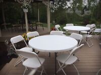 Party Rental for Your Event! Chairs, Tables & MORE!!!!