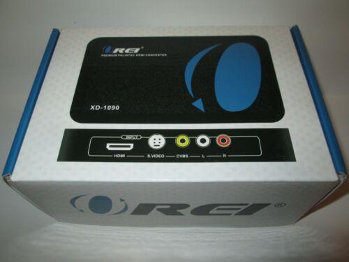 Orei XD-1090 Premium PAL / NTSC HDMI Converter