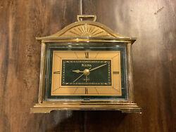 Vintage Bulova Battery-Powered Alarm Clock - Quartz Movement