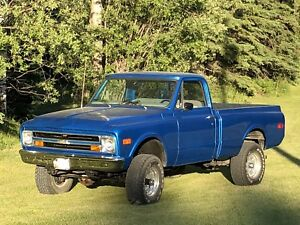 1968 Chevy shortbox 4x4