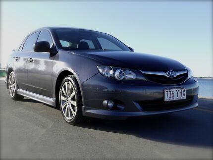 2010 Subaru Impreza RS Sedan Bundall Gold Coast City Preview