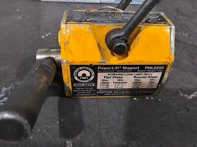 Mag-mate Pnl0250 Powerlift Lifting Magnet 250 Lb Flat Cap