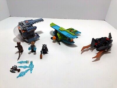 LEGO Plane LOT: Scooby doo 75901 + Thor's 76102 + plane from 70622.