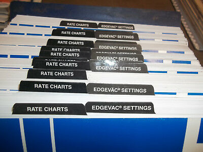 Kinze Planters Operators And Parts Manuals 3110314035003600 Edge Vac
