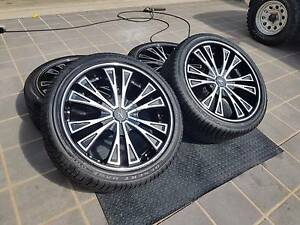 "22"" ZINIK Rims and Tyres (Triton, Hilux, Prado, Ranger, D-Max ) North Lakes Pine Rivers Area Preview"