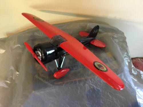 Bank. Indian motorcycles  airplane die cast, replica 1932 Lockheed Vega