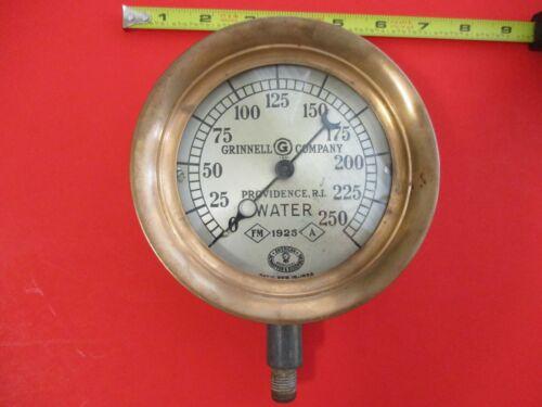 Vintage  Water Gauge 1925 GRINNELL