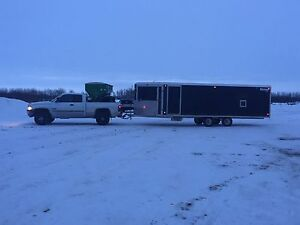Mission fully loaded enclosed trailer