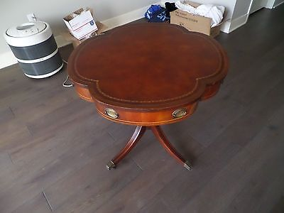 Cherry Wide End Table (Antique End Side Table 32