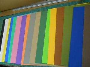5pcs-3mm-THICK-CRAFT-FOAM-SHEETS-12-X18-choose-your-colors
