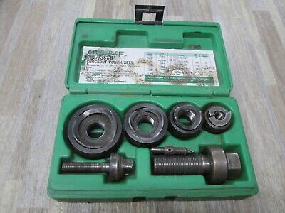 Greenlee 735bb Manual Knockout Punch Kit 12 To34 1 14 Conduit