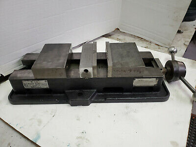 Chick Double Lok Bl 6 Machine Vise For Bridgeport Type Mills Or Vmcs