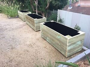 Timber Planter Boxes Narrabeen Manly Area Preview