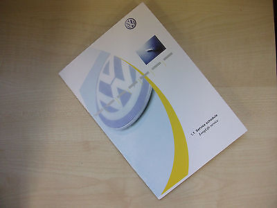 VOLKSWAGEN VW SERVICE BOOK SERVICE HISTORY BOOK NEW & UNUSED ALL VW MODELS*
