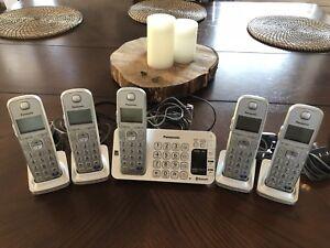 Panasonic DECT 6.0 cordless phone system