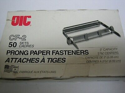 Officemate Oic 99852 Prong Paper Fastener