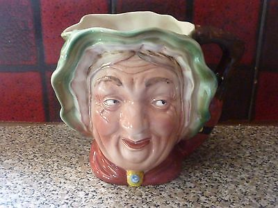 """BESWICK WARE LARGE """"SAIREY GAMP' No.317 CHARACTER JUG EXCELLENT CONDITION"""