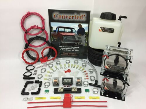 Dual 9 Plate HHO Dry Cell Kit W/ Electronics Volo Chip HydroCell Electrolysis