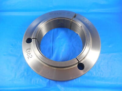 4 8 N Buttress 2a Thread Ring Gage 4.00 Go Only P.d. 3.9189 4-8 Butt N-2a