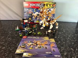 Lego Ninjago: Master Wu Dragon 70734 Ballajura Swan Area Preview