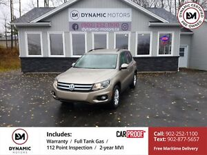 2015 Volkswagen Tiguan Trendline 4MOTION! NEW TIRES! OWN FOR...